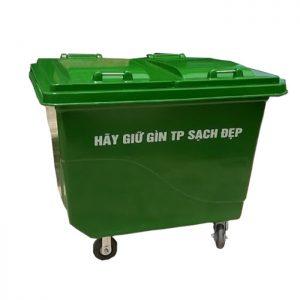 Thùng rác composite 660 re