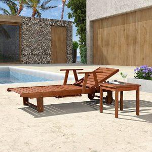 Bàn ghế nằm hồ bơi gỗ: Chuyên sỉ & lẻ ghế nằm hồ bơi uy tín nhất