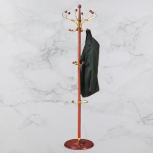 cây treo quần áo bằng gỗ kết hợp với inox