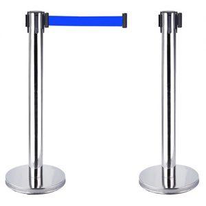 Rào chắn inox dây xanh 1.8m giá rẻ
