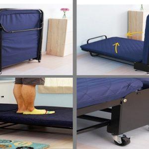 giường extrabed hotel đệm mút 6cm