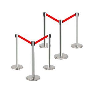 Rào chắn inox 1,8m giá rẻ chất lượng cao